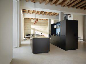 Push to open handleless kitchen door styles - Truman Kitchens